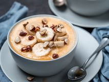 Porridge della polenta del mais Immagini Stock Libere da Diritti