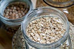 Porridge flakes Royalty Free Stock Images