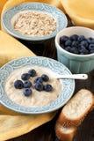 Porridge with fresh berries Royalty Free Stock Images