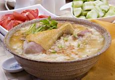 Porridge with meat Royalty Free Stock Photo