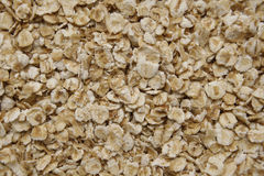 Porridge oats. Close up image of dry porridge oats Royalty Free Stock Image