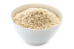 Porridge oats dry uncooked Royalty Free Stock Images