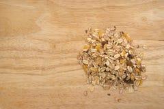 Porridge oats, oat flakes Stock Photos