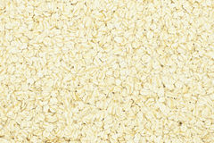 Porridge oats or oatmeal background Stock Image