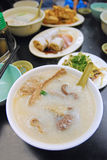 Porridge with pork organs Stock Images