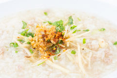 Porridge rice gruel Royalty Free Stock Images