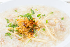 Porridge rice gruel Royalty Free Stock Photos