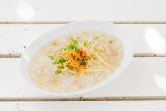Porridge rice gruel Stock Images