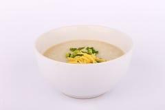 Porridge tailandese del riso con carne di maiale, gruel del riso Fotografia Stock