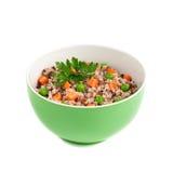 Porridge with vegetables Stock Photos