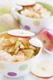 Porrige με τα μήλα Στοκ Φωτογραφίες