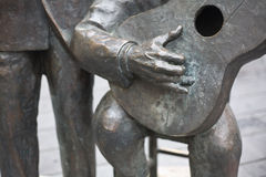 Porrinade Badajoz beeldhouwwerk Royalty-vrije Stock Foto's