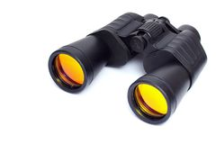 Porro prism binoculars. Are the classic design binoculars. They are great for recreational use such as watching sports and bird watching royalty free stock photography
