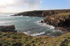Pors Tarz hamn i Brittany Fotografering för Bildbyråer