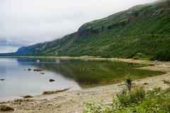 Porsangerfjorden Στοκ Φωτογραφίες