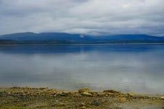 Porsangerfjorden Στοκ φωτογραφία με δικαίωμα ελεύθερης χρήσης