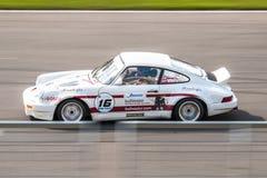 Porsche 911 αγωνιστικό αυτοκίνητο Στοκ εικόνα με δικαίωμα ελεύθερης χρήσης