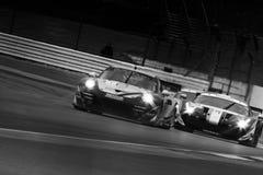 Porsche εναντίον Ferrari στοκ εικόνα