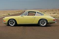 1967 Porsche 911 πλευρά οδηγών στοκ εικόνες