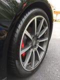 Porsche 991 1 ρόδα 911 multispoke στοκ φωτογραφία με δικαίωμα ελεύθερης χρήσης