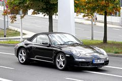 Porsche 911 991 Royalty-vrije Stock Foto