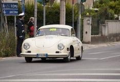 Porsche 356 1500 1954 Arkivfoton