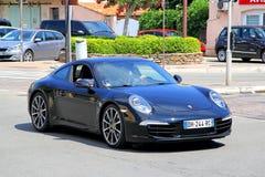 Porsche 991 911 Royaltyfria Bilder