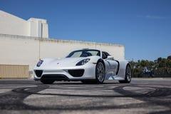 Porsche 918 Lizenzfreies Stockbild