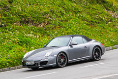 Porsche 991 911 Fotografering för Bildbyråer