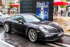Porsche 991 911 Arkivfoton