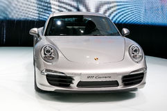 Porsche 911 (991) Carrera Coupe on IAA 2011 Stock Image