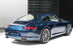 Porsche 911 (991) Carrera Coupe on IAA 2011 Royalty Free Stock Images