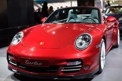 Porsche 911 auf 63. IAA Lizenzfreies Stockfoto