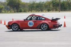 Porsche 911 bei Autocross Lizenzfreies Stockfoto