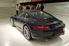 Porsche 911 carrera. Latest model of Porsche 911 carrera s Royalty Free Stock Photo