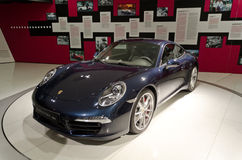 Porsche 911 carrera. Latest model of Porsche 911 carrera s Royalty Free Stock Images