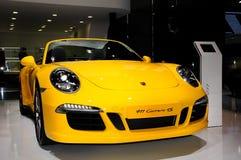 Porsche 911 Carrera 4S cabrioletsportbil Royaltyfria Bilder