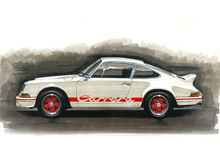 Free Porsche 911 Carrera RS2.7 Stock Photo - 43234720