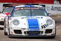 Porsche 911 de Grand Prix van Detroit Royalty-vrije Stock Afbeeldingen