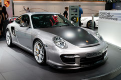 Porsche 911 GT2 RS - estreno mundial Imagenes de archivo