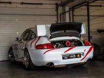 Porsche 911 GT3 race car Stock Photography