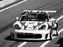 Porsche 911 GT3 race car Royalty Free Stock Photos