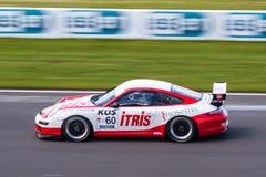 Porsche 911 GT3 race car Stock Image