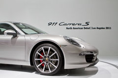 Porsche 911 Los Angeles International Show Stock Images