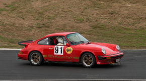 Porsche 911 racing car at speed Royalty Free Stock Image
