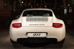 Porsche 911 rear Royalty Free Stock Images
