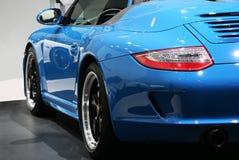 Porsche 911 Snelheidsmaniak bij de Show van de Motor van Parijs Royalty-vrije Stock Foto's