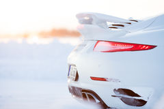 PORSCHE 911 TURBO Stock Image