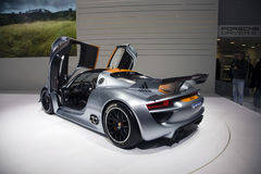 Porsche 918 RSR Racing Lab Hybrid Royalty Free Stock Images