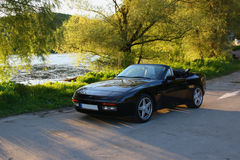 Porsche 944 cabriolet Stock Photography